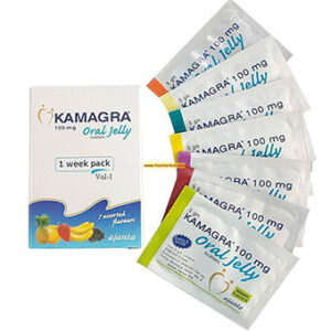 Kamagra Oral Jelly 100Mg (Sildenafil Citrate)