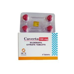 Caverta 100Mg (Sildenafil Citrate)