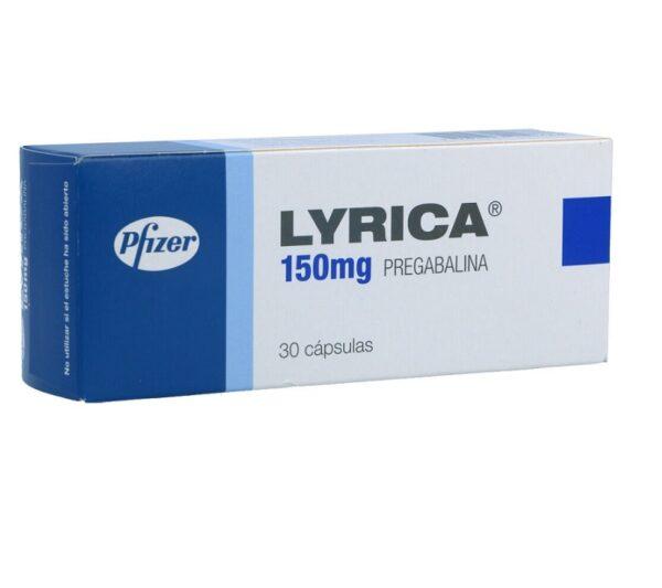 Lyrica (Pregabalin) 150 MG Capsules