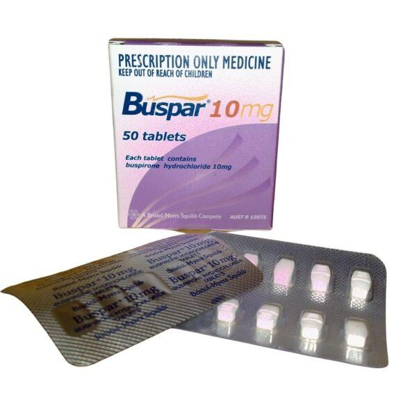 Buspar Buspirone 10mg Tablet